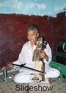 Abdul Latif Khan, sarangi player