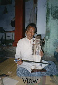 Bhola Nath Mishra, sarangi player