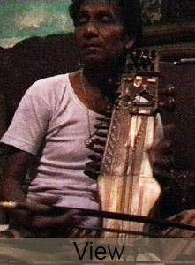 Hamid Khan, sarangi player