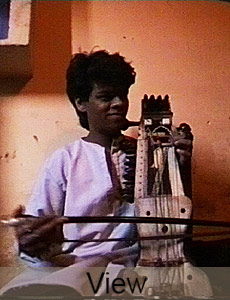 Murad Ali Khan, sarangi player